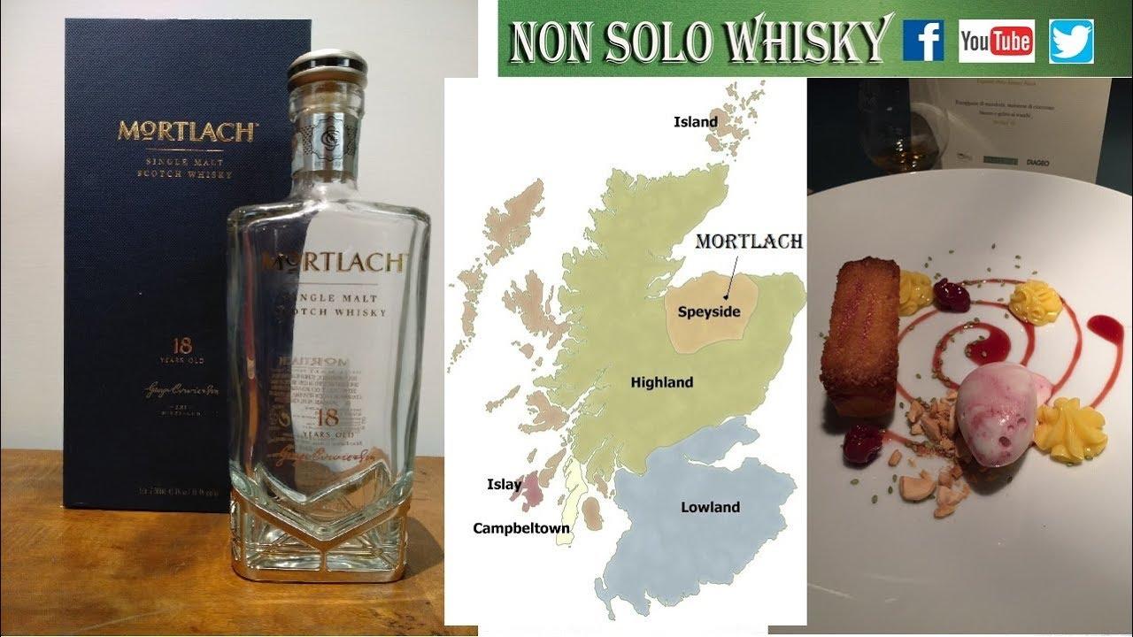 Mortlach 18 yo Speyside Single malt scotch whisky 43,4%