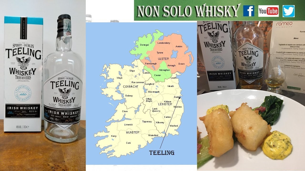 Teeling Trois Rivieres rhum finishing Irish whiskey 46%