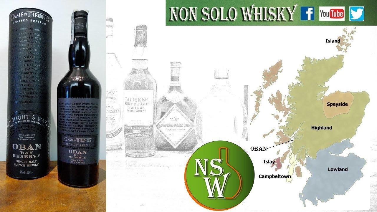 Oban Single malt scotch whisky Game of Thrones 43%