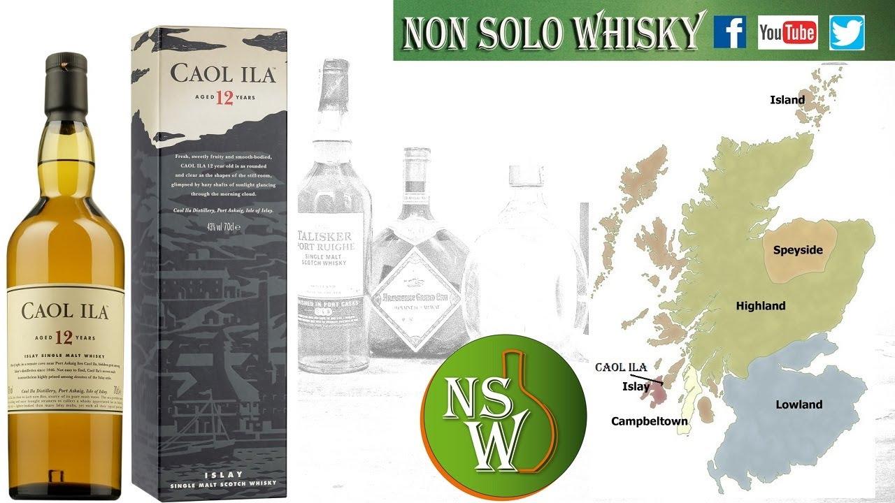 Caol Ila 12 yo Islay Single malt scotch whisky 43%