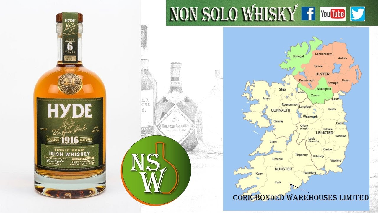 Hyde (IB) Single grain irish whiskey 46%