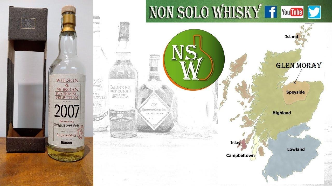 Glen Moray Single malt scotch whisky 46% Wilson & Morgan