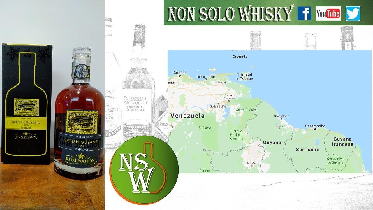 Rum Nation British Guyana 10 yo Cask strength 56,4%