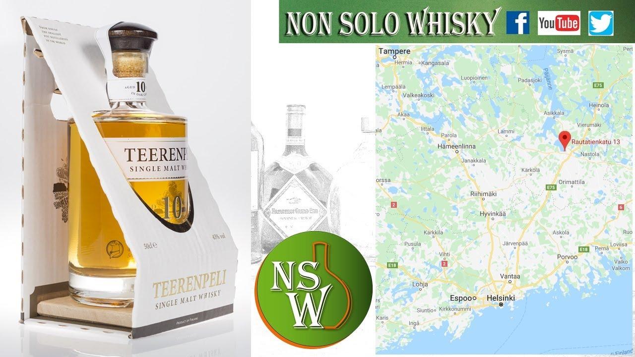 Teerenpeli 10 yo Single malt finnish whisky 43%
