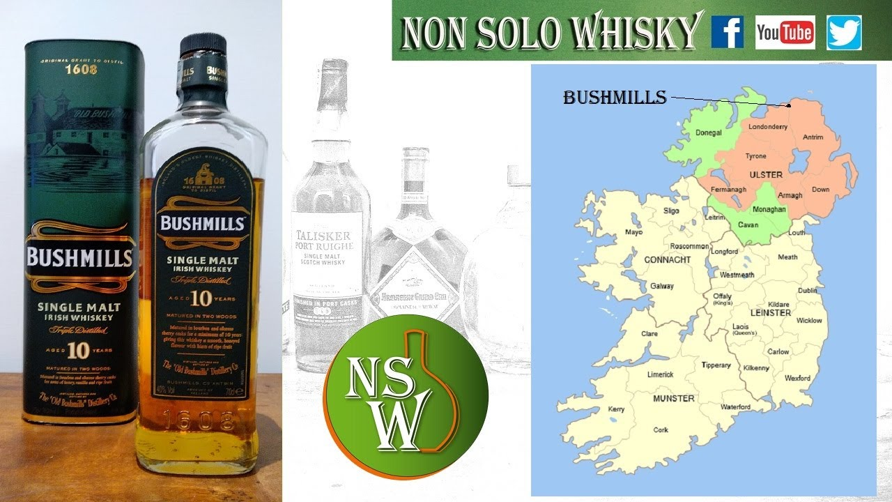 Bushmills 10 yo Single malt irish whiskey 40%
