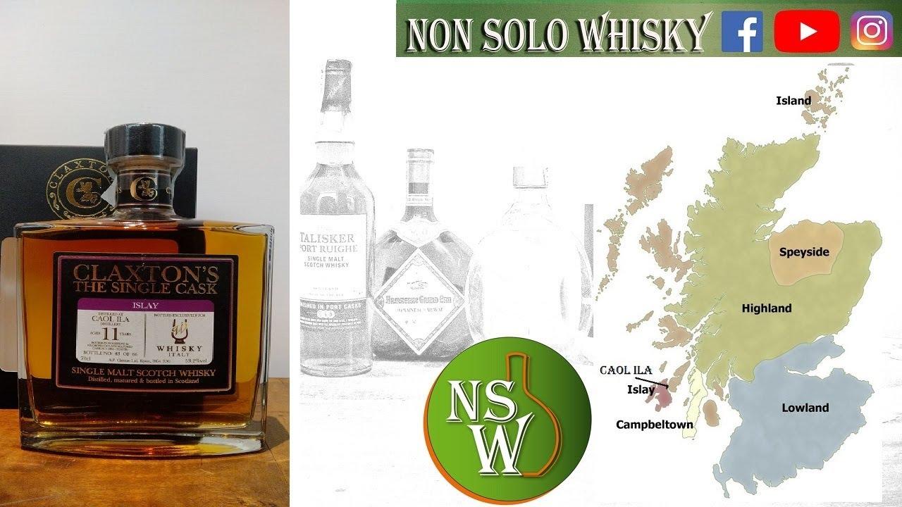 Claxton's Caol ila 11 yo Whisky italy 53,2%